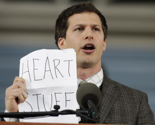 Andy Samberg delivers hysterical Harvard address