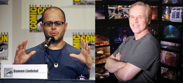 Damon Lindelof (left) and Brad Bird (right)