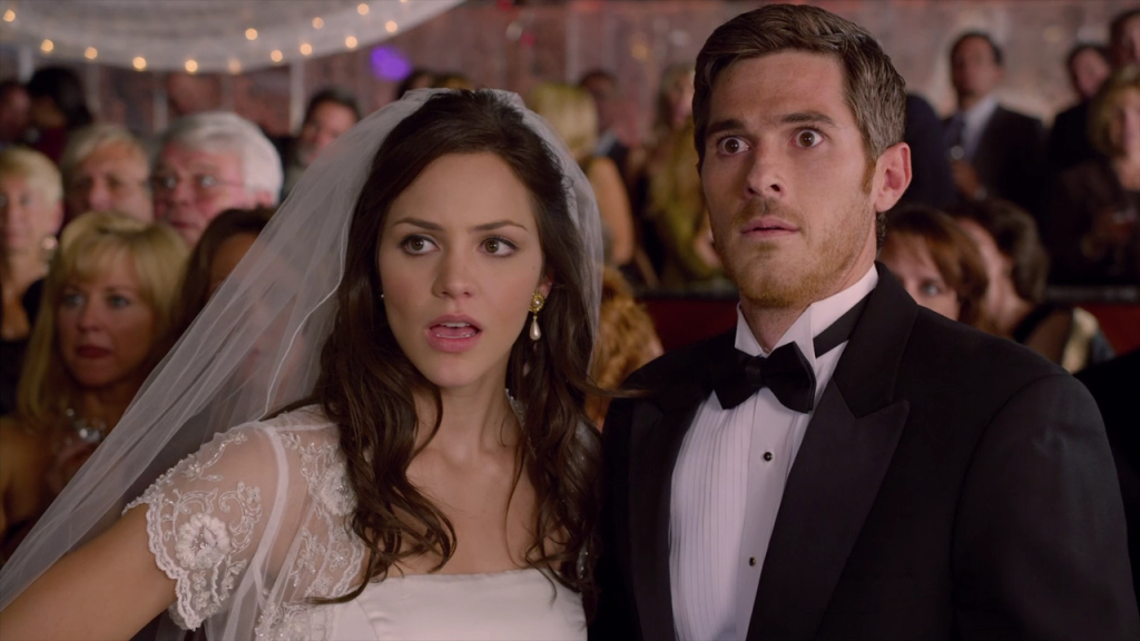 "Katharine McPhee and Dave Annable star in Rob Hedden's ""You May Not Kiss the Bride"""
