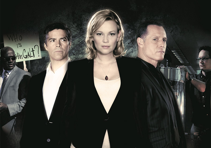 "Samantha Mathis, Jason Beghe, and Esai Morales star in John Putch's ""Atlas Shrugged: Part II."""