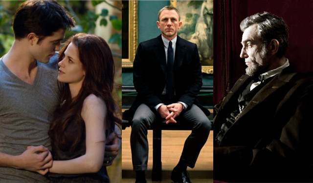 "Weekend Box Office: ""Twilight,"" ""Skyfall,"" ""Lincoln"" beat openers"