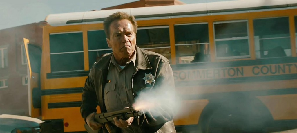 """Film critic James Frazier reviews Arnold Schwarzenegger's return to Hollywood, """"The Last Stand"""""""