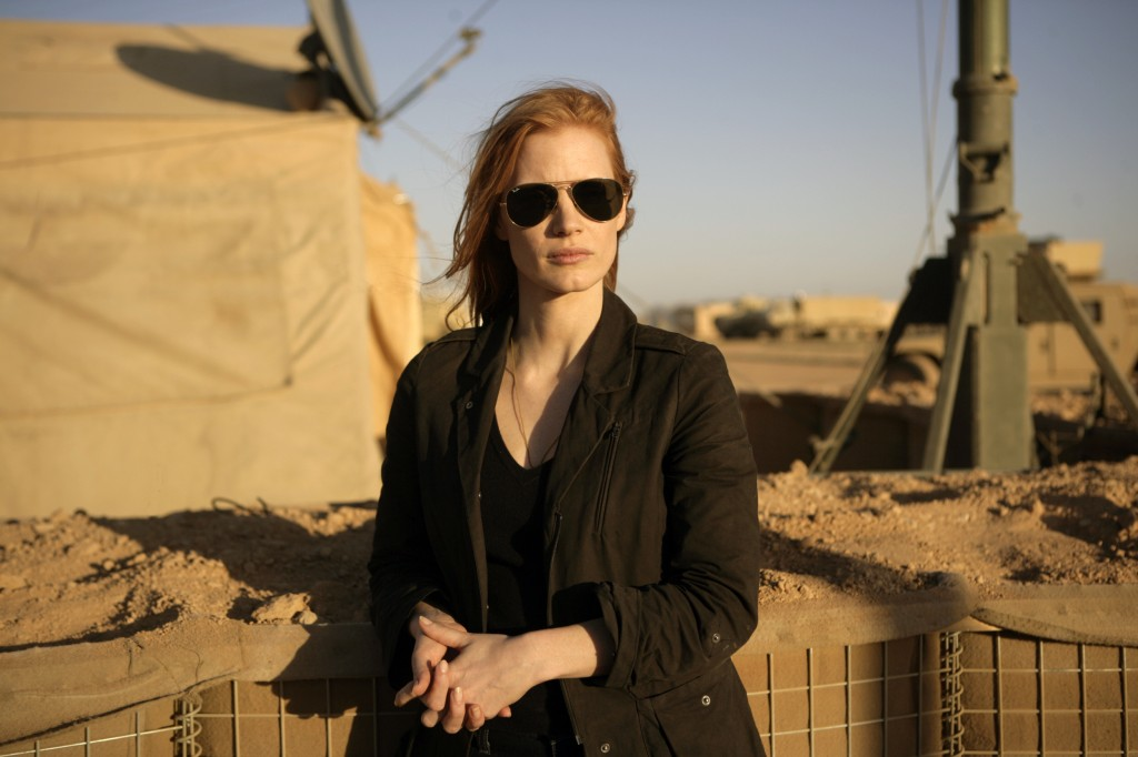 "Jessica Chastain stars in Kathryn Bigelow's ""Zero Dark Thirty,"" reviewed by conservative film critic Danny Baldwin."