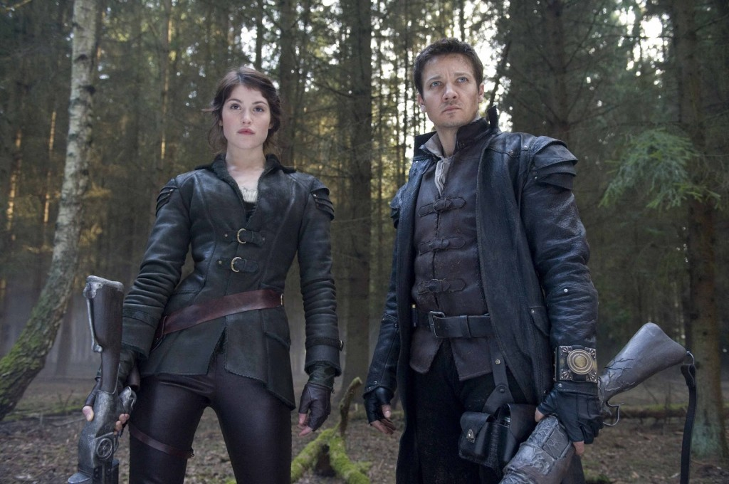 "Jeremy Renner and Gemma Arterton star in ""Hansel & Gretel: Witch Hunters"""