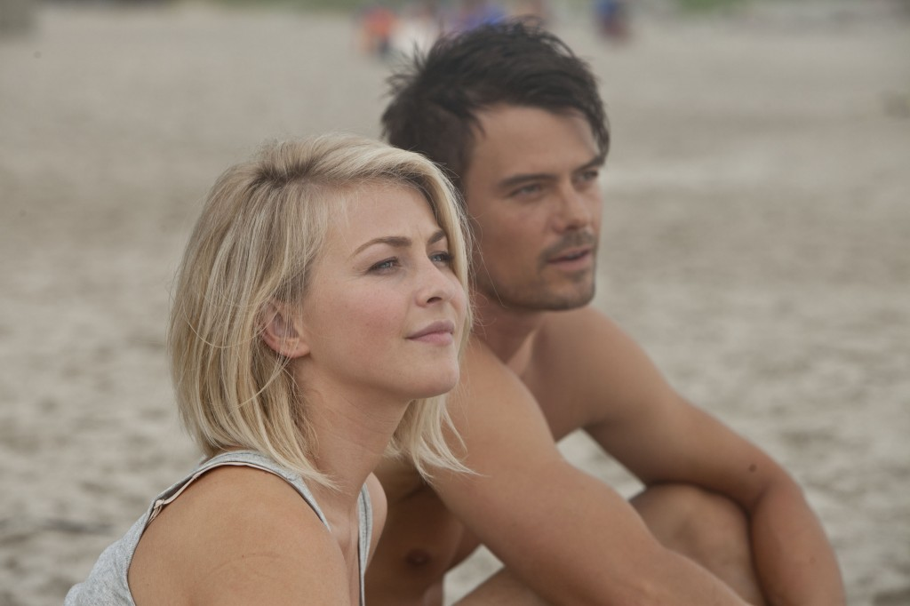 "Julianne Hough and Josh Duhamel star in ""Safe Haven,"" directed by Lasse Hallström."