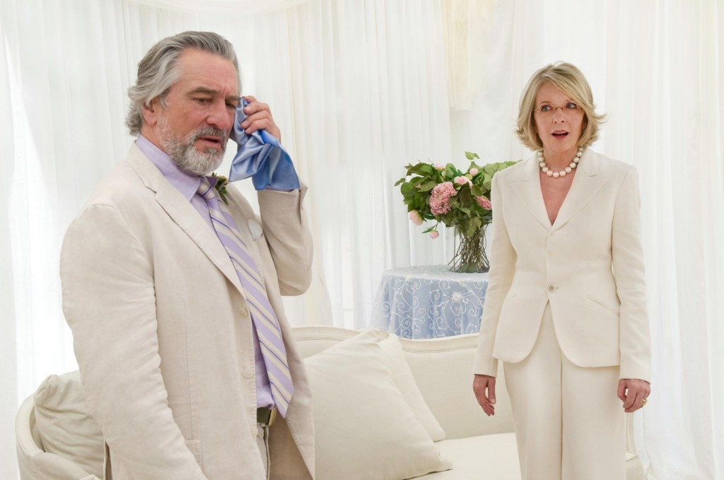 "Robert De Niro and Diane Keaton headline an all-star cast collecting paychecks in ""The Big Wedding,"" here reviewed by film critic Danny Baldwin."