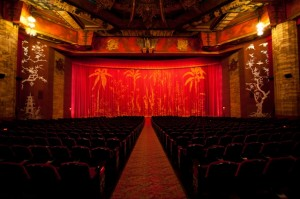 The interior of Grauman's Chinese Theatre.