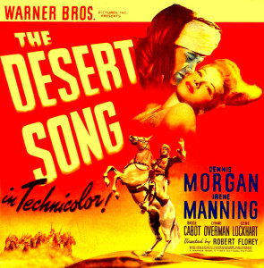 """The Desert Song"" (1943) had its first public screening in more than 30 years."