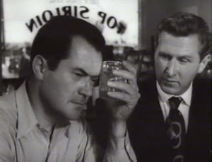"""Frank Lovejoy and Lloyd Bridges in Cy Endfield's """"Try and Get Me"""" (1950)"""