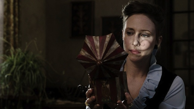 "Vera Farmiga stars as Lorraine Warren in ""The Conjuring,"" here reviewed by film critic Danny Baldwin."