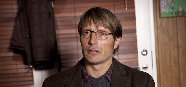 "Mads Mikkelsen stars in ""The Hunt,"" now available to stream on Netflix."