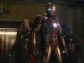 Marvel's Avengers: Age Of Ultron..L to R: Thor (Chris Hemsworth), Iron Man/Tony Stark (Robert Downey Jr.) and Captain America/Steve Rogers (Chris Evans) ..Ph: Film Frame..©Marvel 2015