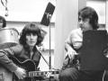 """George Harrison and Joe Osborn in The Wrecking Crew."""""""