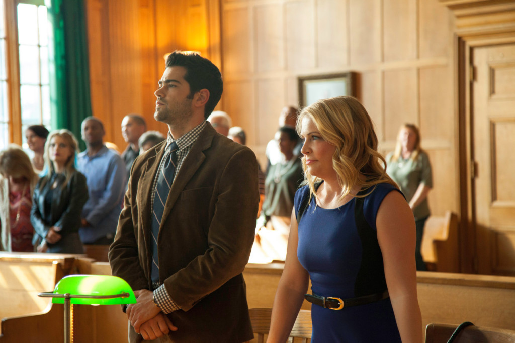 "Jesse Metcalfe and Melissa Joan Hart star in ""God's Not Dead 2,"" the Christian film directed by Harold Cronk."
