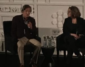 "Director John Badham and star Donna Pescow in conversation before ""Saturday Night Fever."""