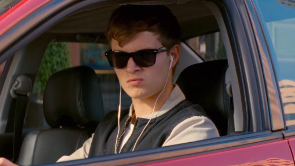 "Ansel Elgort stars in Edgar Wright's ""Baby Driver"""
