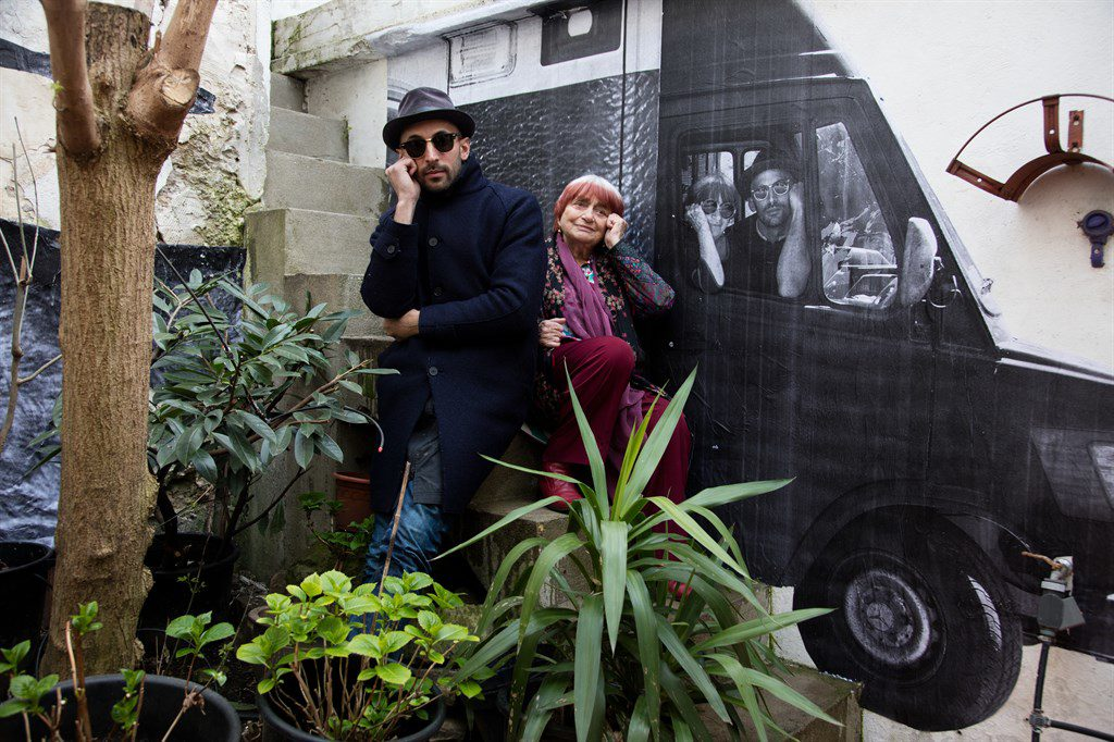 """Faces Places,"" a collaborative cine-essay by filmmaker Agnès Varda and photographer JR, took two years to complete."