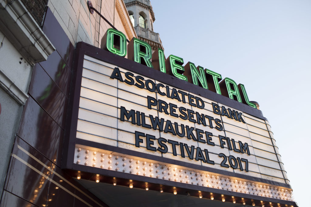 The Oriental Theatre on Farwell Avenue is the main hub for the Milwaukee Film Festival. Photo by Jennifer Johnson for Milwaukee Film.