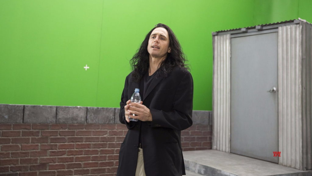 "Film critic reviews ""The Disaster Artist,"" directed by and starring James Franco."