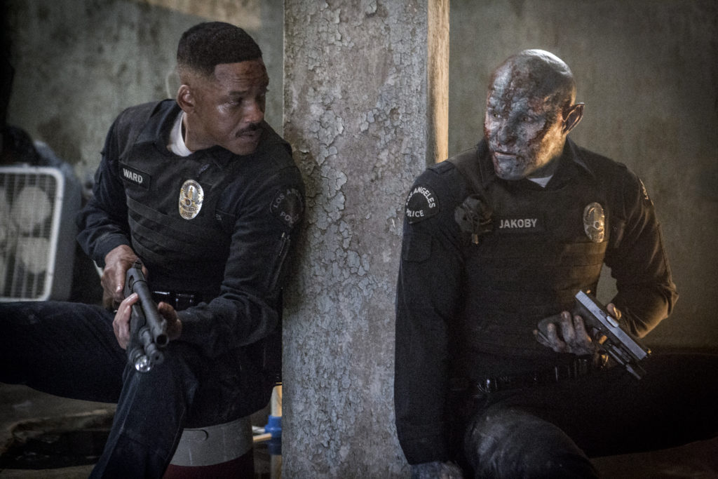 "Film critic James Frazier reviews David Ayer's ""Bright,"" starring Will Smith and Joel Edgerton, now streaming on Netflix."